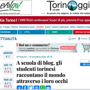 A scuola di blog su TorinoOGGI